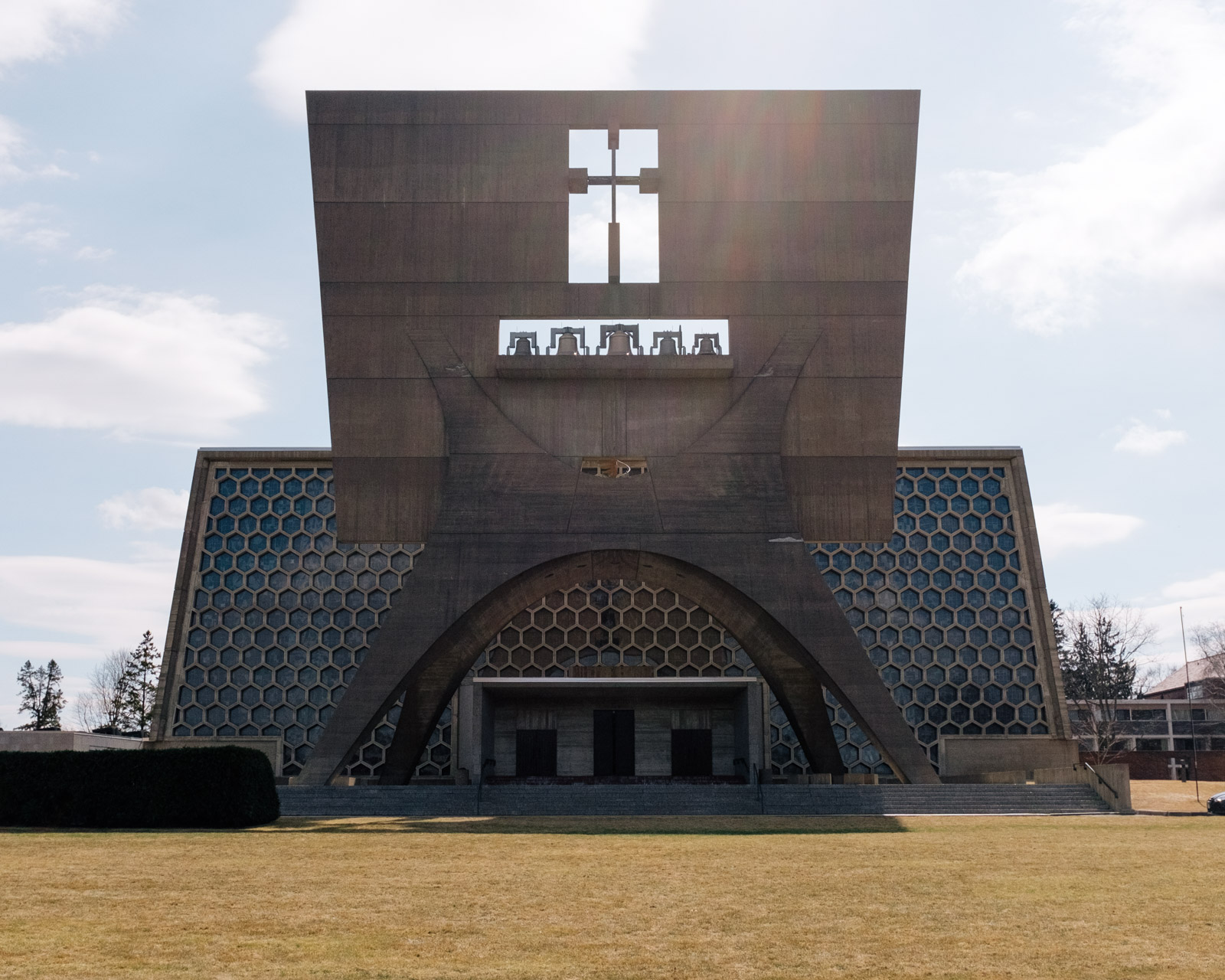 St. John's Abbey Church, Collegeville Township, Minnesota - 1961, Marcel Breuer